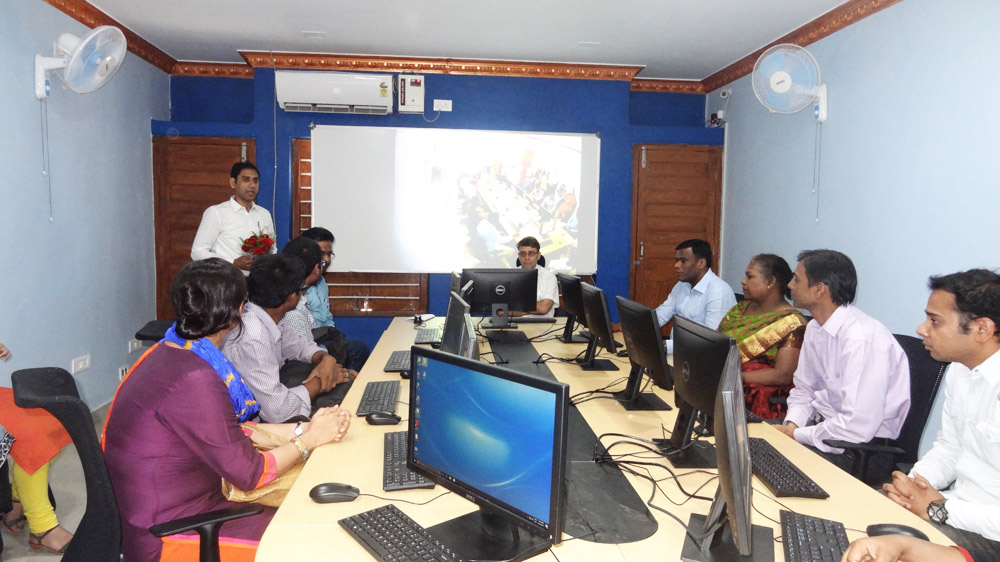 Inauguration of GIS Lab cum classroom for certificate course in Remote Sensing, GIS and GNSS - Image 2