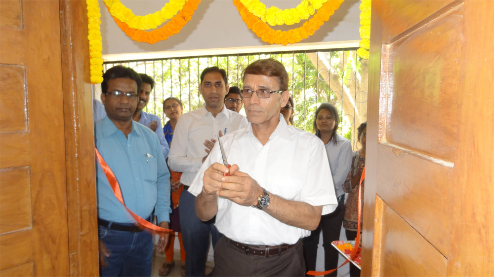 Inauguration of GIS Lab cum classroom for certificate course in Remote Sensing, GIS and GNSS