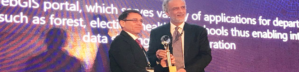 Esri India Special Achievement in GIS Award