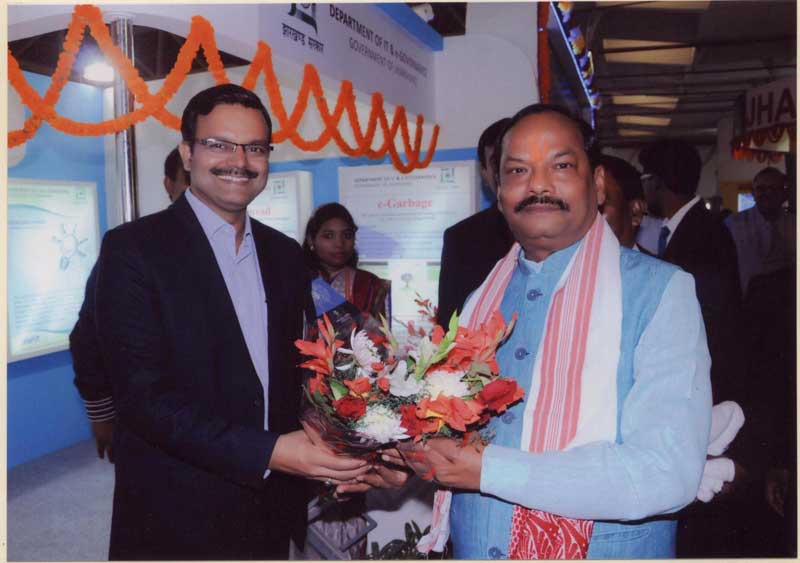 Visit of Hon'ble Chief Minister of Jharkhand to IITF 2015, New Delhi