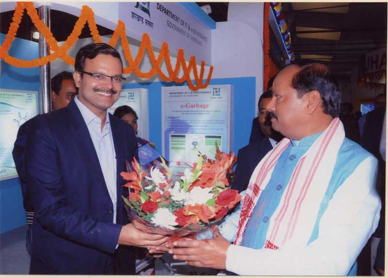 Visit of Hon'ble Chief Minister of Jharkhand to IITF 2015, New Delhi - Image 2